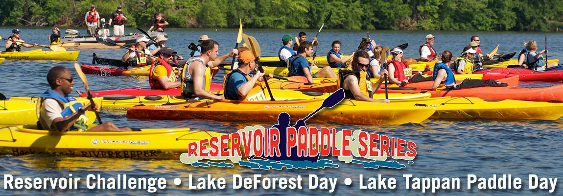 Reservoir Paddle Series – Hackensack RIVERKEEPER
